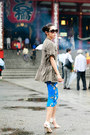 Trouve-jacket-prada-sunglasses-zara-skirt-senso-sandals