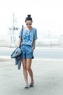 Richard-chai-love-blazer-stylestalker-shorts-ray-ban-sunglasses