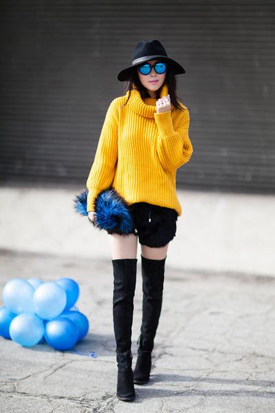 Sheinside sweater - Sheinside shorts