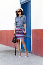 JCrew skirt - JCrew hat