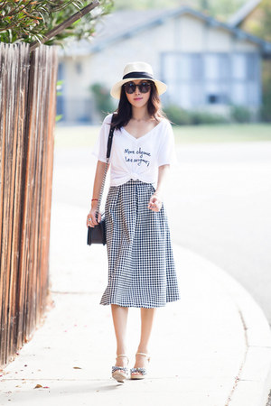 Topshop skirt - Le Motto t-shirt