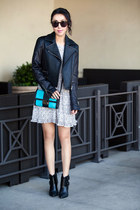 Anine Bing dress - rag & bone jacket - Michael Kors bag