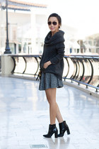 Tibi boots - Anthropologie sweater - Louis Vuitton bag - ray-ban glasses