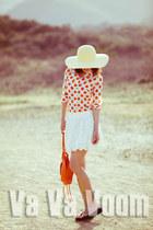 JCrew shirt - a&f skirt