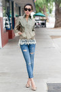 Current-elliott-jeans-anthropologie-sweater-steve-madden-heels