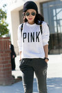 Asos-hat-marc-by-marc-jacobs-bag-nike-sneakers-victorias-secret-pink-pants