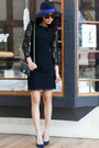 Dvf-dress-anthropologie-hat-loft-heels