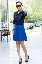 Tibi skirt - JCrew necklace