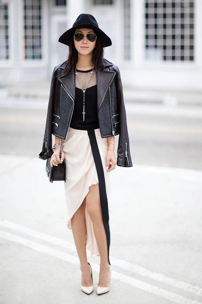rag & bone jacket - haute hippie skirt