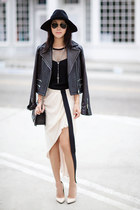 rag & bone jacket - haute hippie skirt