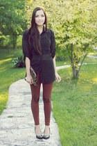 crimson Flattery leggings - light brown Oh my Frock bag