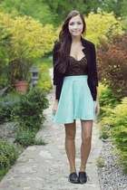 light blue Chicwish skirt