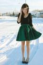 Green-flattery-skirt