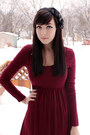 Black-joe-fresh-styles-sweater-black-forever-21-tights-ruby-red-forever-21-d