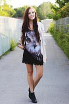 black 2fb skirt