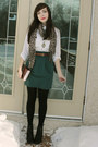 Black-spring-shoes-boots-white-joe-fresh-style-blouse-green-urban-behavior-s
