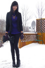 Black-jeffrey-campbell-shoes-black-le-chateau-purse-purple-smart-set-blouse-