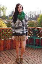 girlfriends material sweater - camel romwe dress