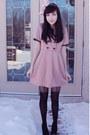 Light-pink-miss-patina-dress-light-pink-aldo-accessories-accessories-black-f