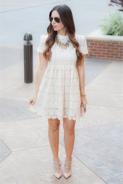 white Chicwish dress