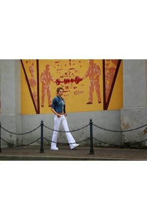 Bershka shoes - Zara jeans - Bershka jacket - Mohito bag - Bershka top