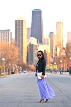 Cartier watch - JCrew shoes - periwinkle Victorias Secret dress - H&M jacket