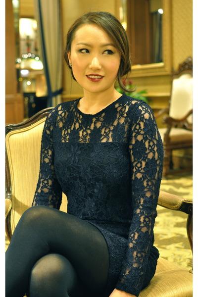 Zara dress - HUE tights