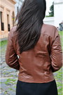 Black-zara-shirt-brown-leather-jacket-montevideo-leather-factory-jacket