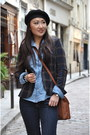 Zara-boots-gap-jeans-zara-blazer-jcrew-shirt-coach-bag