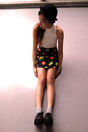 Topshop top - Grammah skirt