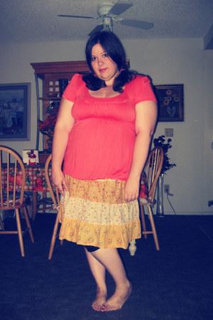 floral xhilaration skirt