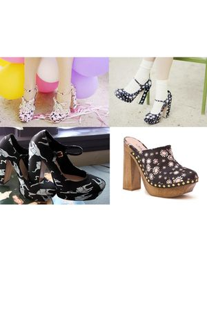 pink Miu Miu shoes - black Miu Miu shoes - black Miu Miu shoes - brown Miu Miu s