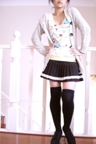 Jay Jays t-shirt - skirt - jacket - socks - shoes