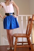 Forcast blouse - Valley Girl skirt - belt - shoes
