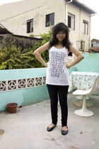 forever 21 top - Mango jeans - diva accessories - rubi shoes