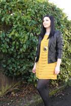 mustard trendz dress