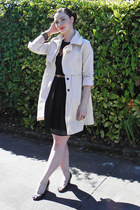 Secondhand dress - Secondhand jacket - Secondhand wedges