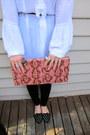 Crimson-velvet-leggings-brown-sportsgirl-bag