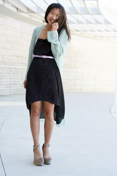 High Low Sweater Dress Dotted High-low Dress