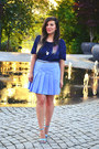 Navy-stradviarius-top-sky-blue-second-hand-store-skirt-sky-blue-zara-sandals