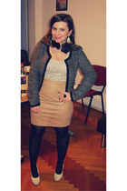 heather gray joy fashion blazer