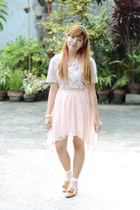 light pink Phrenzy skirt