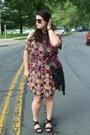 Black-target-dress-black-h-m-bag-black-chicwish-sunglasses