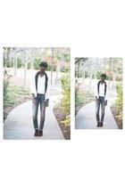 Zara jeans - Forever 21 blazer