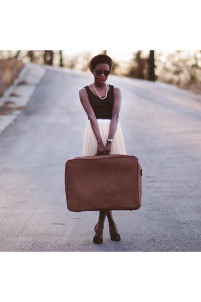 Forever 21 top - Ebay skirt - Zara heels