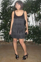 Topshop dress - Mango shoes - dior purse - Forever21