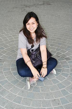 shirt - Promod purse - Converse shoes