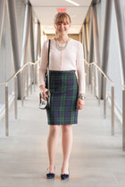 Jacob skirt - Fossil bag - Fossil bag - Loren Hope bracelet - Old Navy cardigan