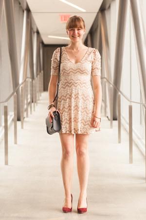 Uncommon Goods necklace - Uncommon Goods necklace - modcloth dress