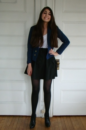 H&amp;M blazer - H&amp;M skirt - H&amp;M shirt